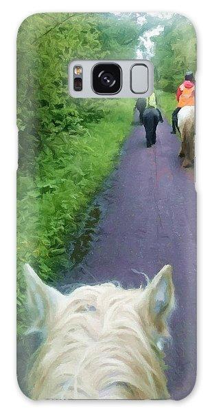 The Horse Ride Galaxy Case