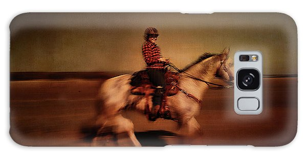 The Horse Rider Galaxy Case