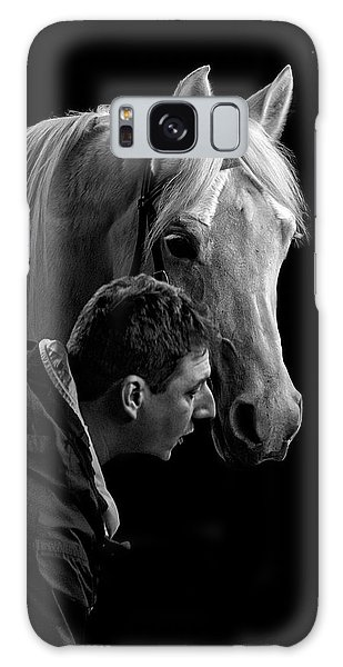 The Horse Whisperer Extraordinaire Galaxy Case