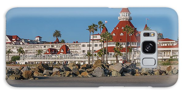 The Hotel Del Coronado Galaxy Case