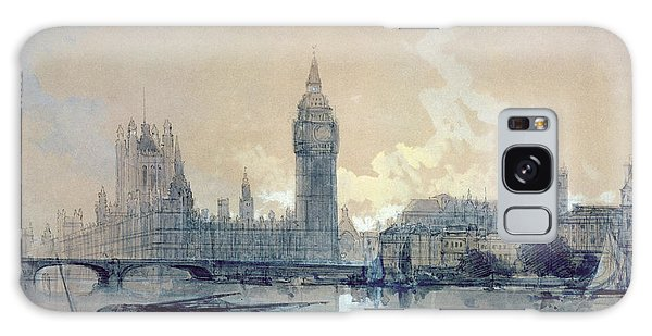 Houses Of Parliament Galaxy Case - The Houses Of Parliament by David Roberts