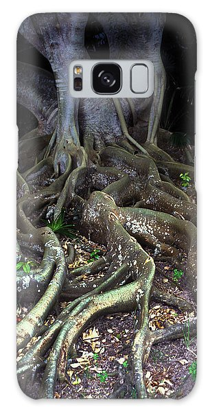 The Hungry Roots Galaxy Case by Carl Purcell