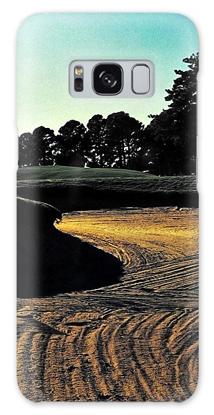 Galaxy Case featuring the photograph The Hustle And Bustle Has Come To An End On The Golf Course by Gerlinde Keating - Galleria GK Keating Associates Inc
