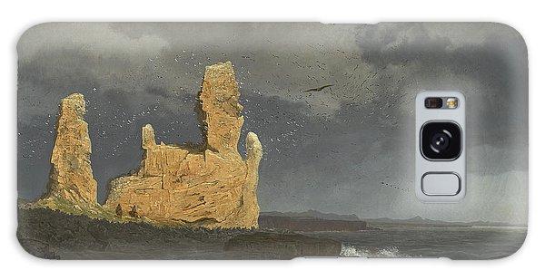 Strange Clouds Galaxy Case - The Icelandic Coast by Christian Ezdorf