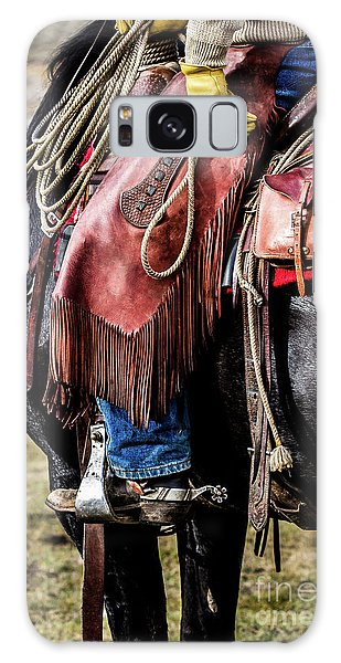 The Idaho Cowboy Western Art By Kaylyn Franks Galaxy Case