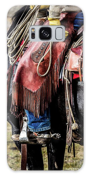 The Idaho Cowboy Western Art By Kaylyn Franks Galaxy Case