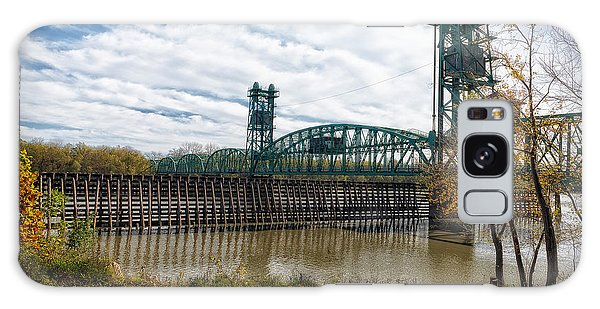 Galaxy Case featuring the photograph The Illinois River by Cindy Lark Hartman