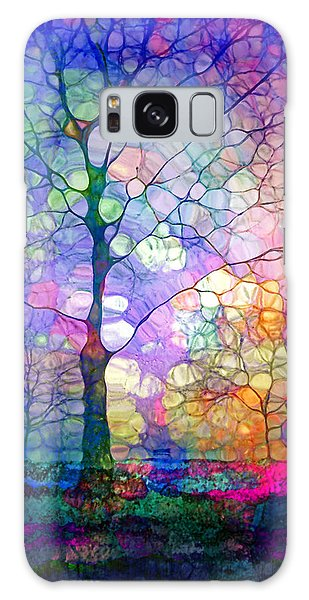 The Imagination Of Trees Galaxy Case by Tara Turner