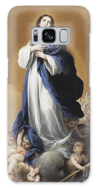 New Testament Galaxy Case - The Immaculate Conception  by Bartolome Esteban Murillo
