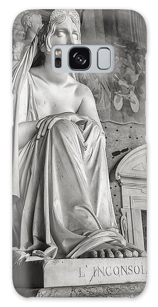 The Inconsolable Statue At Pisa Galaxy Case