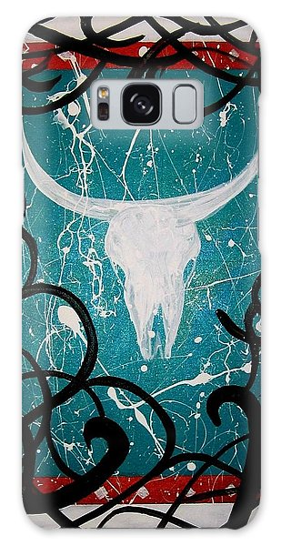 Galaxy Case featuring the painting The Ire by MB Dallocchio