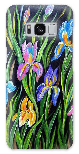 The Irises Galaxy Case