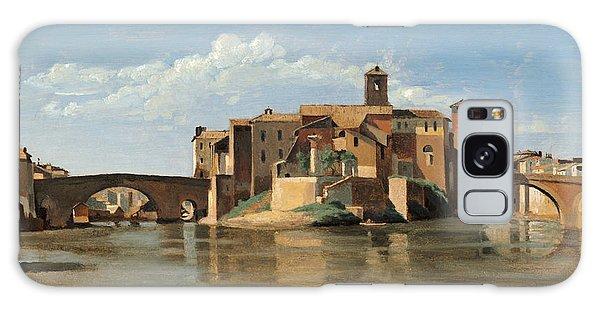 The Island And Bridge Of San Bartolomeo Galaxy Case