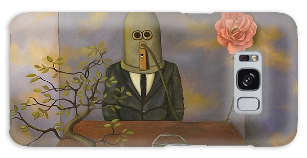 Strange Clouds Galaxy Case - The Isolator by Leah Saulnier The Painting Maniac