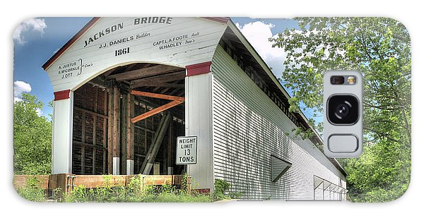 The Jackson Covered Bridge Galaxy Case