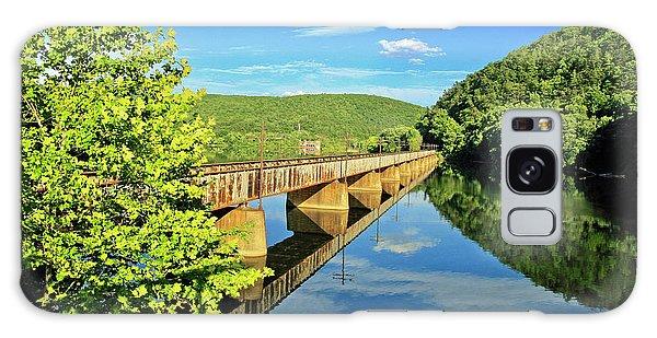 The James River Trestle Bridge, Va Galaxy Case