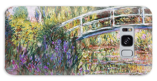 Impressionism Galaxy Case - The Japanese Bridge by Claude Monet