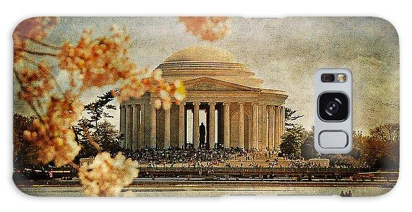 Jefferson Memorial Galaxy S8 Case - The Jefferson Memorial by Lois Bryan