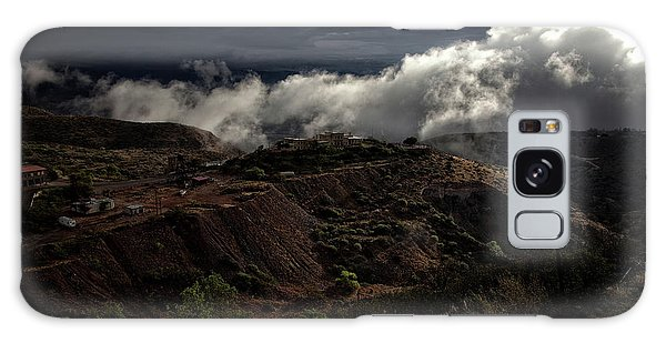 The Jerome State Park With Low Lying Clouds After Storm Galaxy Case