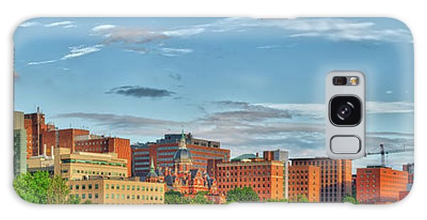 Galaxy Case featuring the photograph The Johns Hopkins Hospital Complex by Mark Dodd