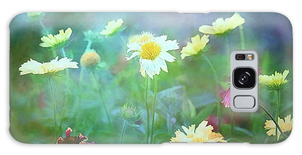 The Joy Of Summer Flowers Galaxy Case