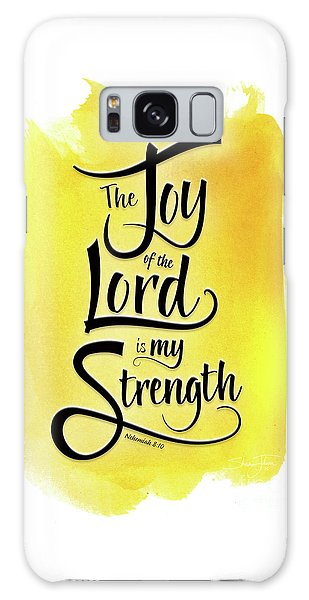 The Joy Of The Lord - Yellow Galaxy Case