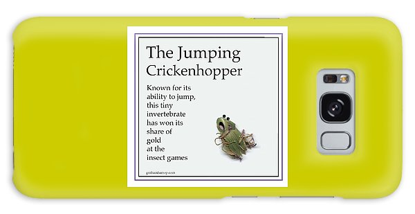 The Jumping Crickenhopper Galaxy Case