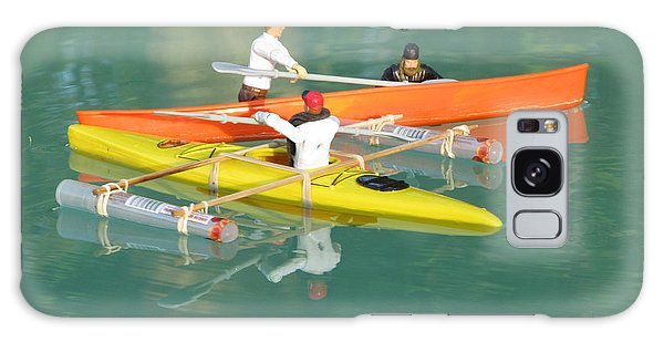 The Kayak Team 12 Galaxy Case by Digital Art Cafe