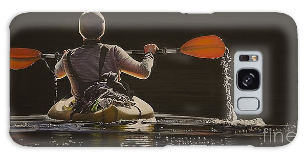 The Kayaker Galaxy Case