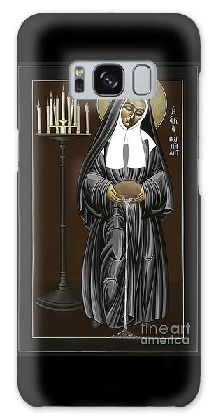 The Kenosis Of St Bernadette Of Lourdes 063 Galaxy Case