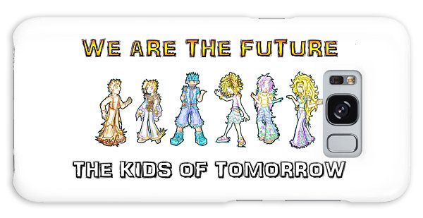 Galaxy Case featuring the digital art The Kids Of Tomorrow by Shawn Dall