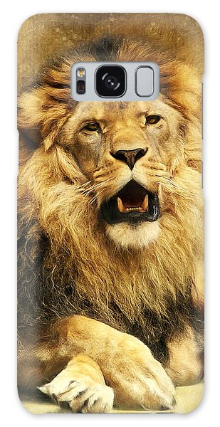 Lion Galaxy Case - The King by Angela Doelling AD DESIGN Photo and PhotoArt