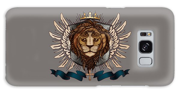 Majestic Galaxy Case - The King's Heraldry II by April Moen