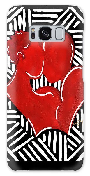The Kiss Galaxy Case by Diamin Nicole