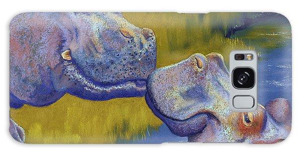 The Kiss - Hippos Galaxy Case