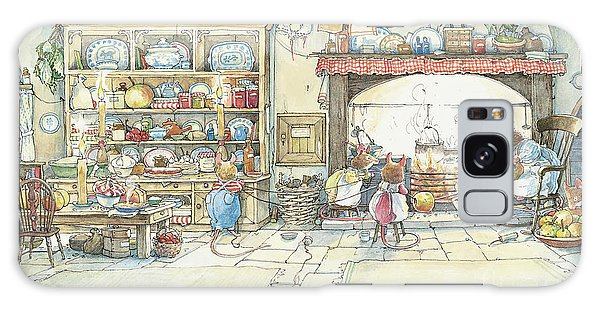 Apple Galaxy S8 Case - The Kitchen At Crabapple Cottage by Brambly Hedge