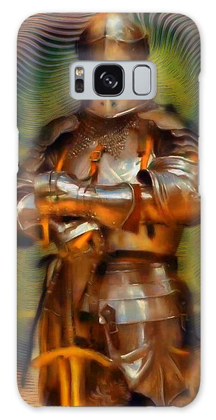 Fashion Plate Galaxy Case - The Knight In Shining Armor by Mario Carini