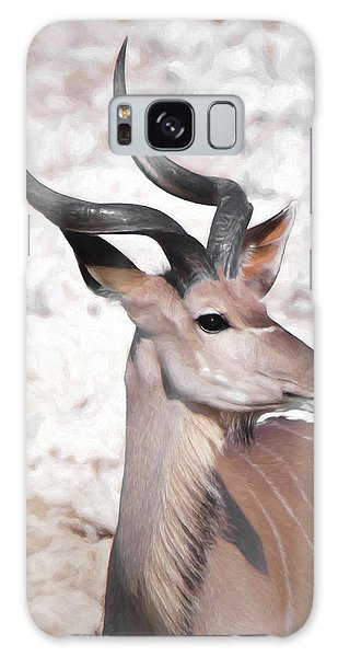 The Kudu Portrait Galaxy Case by Ernie Echols