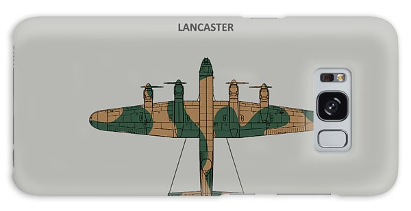 Bomber Galaxy Case - The Lancaster by Mark Rogan