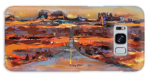 National Monument Galaxy Case - The Land Of Rock Towers by Elise Palmigiani