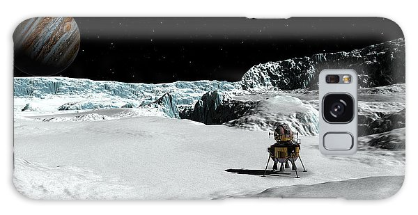 The Lander Ulysses On Europa Galaxy Case