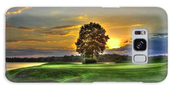 The Landing Golf Course Reynolds Plantation Landscape Art Galaxy Case