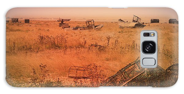 The Landscape Of Dungeness Beach, England 2 Galaxy Case