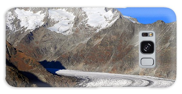 The Large Aletsch Glacier In Switzerland Galaxy Case