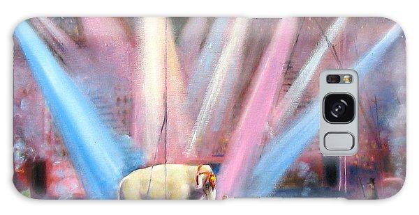 The Last Circus Elephant Galaxy Case by Oz Freedgood