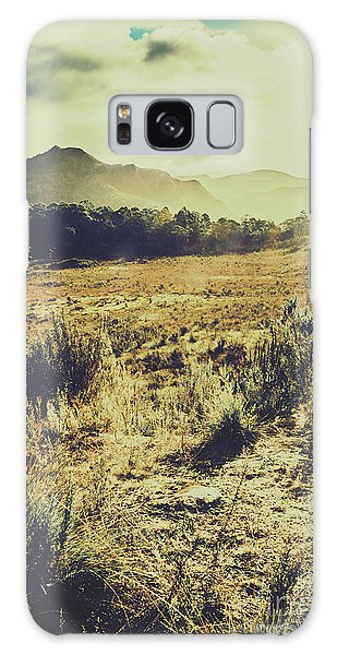 Faded Galaxy Case - The Last Light by Jorgo Photography - Wall Art Gallery