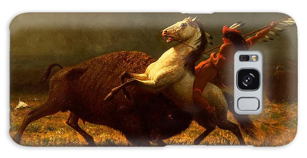 Bison Galaxy S8 Case - The Last Of The Buffalo by Albert Bierstadt