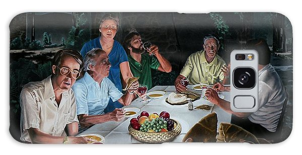 New Testament Galaxy Case - The Last Supper by Dave Martsolf