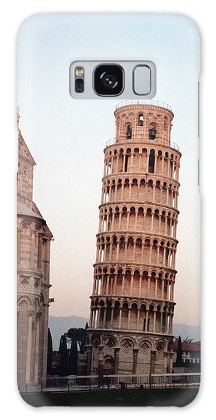 The Leaning Tower Of Pisa Galaxy Case by Marna Edwards Flavell