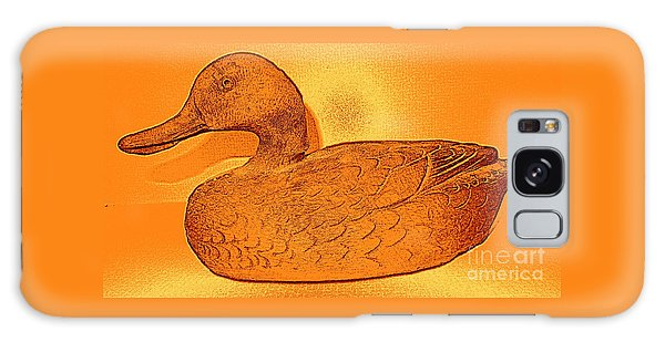The Legend Of The Golden Duck Galaxy Case by Richard W Linford